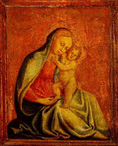 madonna and child by domenico di michelino