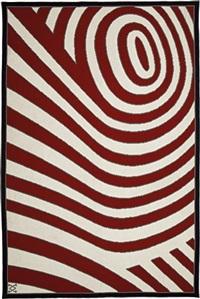 spiral rug by vera iachia