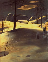 winterlandschaft by robert angerhofer