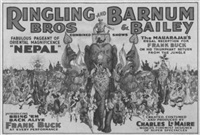 ringling bros. and barnum & bailey / nepal by posters: circus