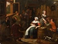 at the tavern by jan miense molenaer