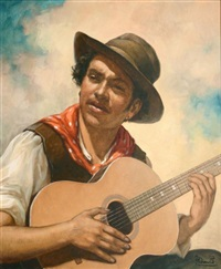 le guitariste by andré david