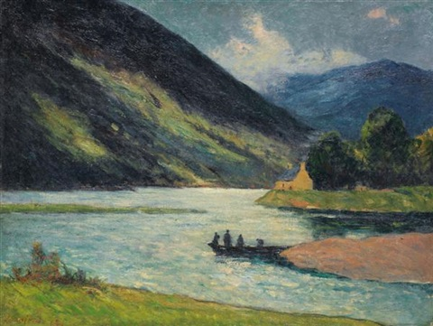 loch etive ecosse by maxime maufra