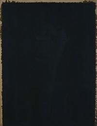 burnt umber & ultramaline blue by yun hyong-keun