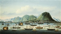 hong kong harbour and the city of victoria by anglo-chinese school (19)