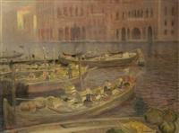 mercato a venezia by luigi zago