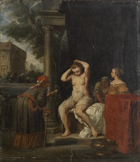 bathsheba bathing by jan de bray