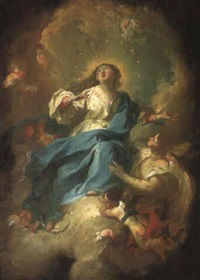 the assumption of the virgin by felix ivo leicher