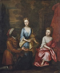 portrait of two sisters by william aikman