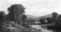 bridge on the little beaver, pa. by rufus way smith