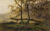 the silver birch by nathaniel hone the elder