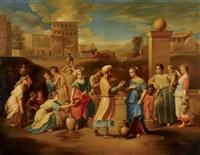 eliezer et rebecca by nicolas poussin