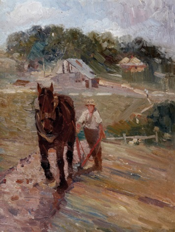 the ploughman by hal waugh