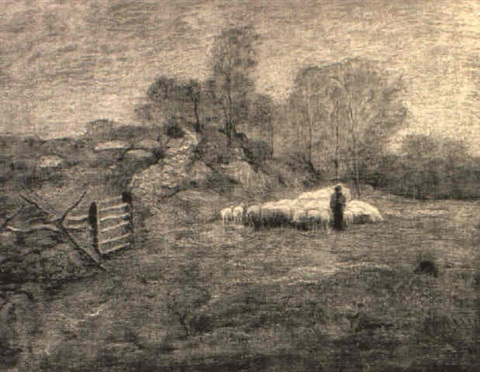 marvins field lyme connecticut by louis paul dessar