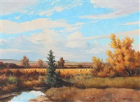 harvest time, caroline, alta by duncan mackinnon crockford