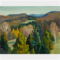 fall, laurentians by edwin headley holgate