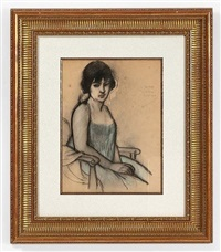 portrait de madame wolff by armand rassenfosse