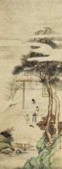 教子图 by liu dezhi