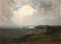 breaking waves, county clare by nathaniel hone the younger