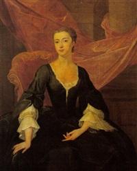 portrait of arabella vaughan, mrs. thomas williams by john lewis