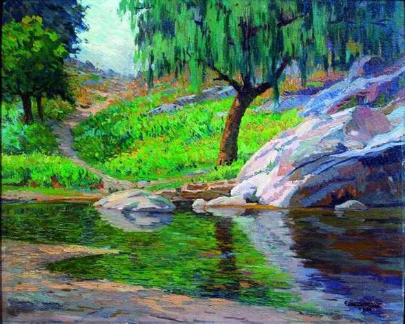 mañana en el arroyo by ceferino carnacini