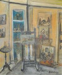 intérieur d'un atelier by isaac antcher