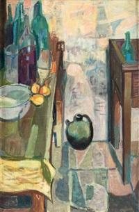 table dans la cuisine by jean claude aujame