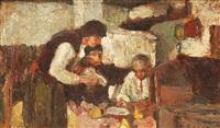 masă în familie by nicolae enea