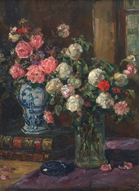 bouquets de roses by ludmilla flesh-bruningen