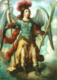 an archangel by juan de correa da vivar