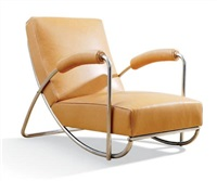 armchair by bruno weil