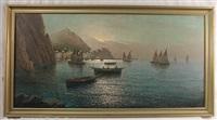 fishing port coast of capri by vincenzo d' auria