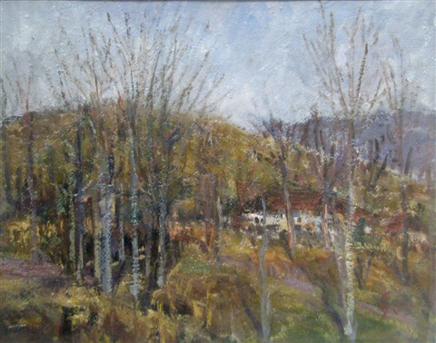 autumn in campina by eugen gasca