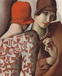 les confidences by tamara de lempicka