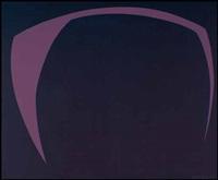 chromatisme binaire: violet cobalt by fernand leduc