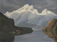 bute inlet by ronald threlkeld jackson