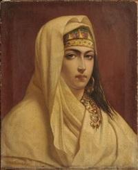 portrait de jeune femme ottomane by michael van alphen