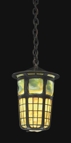 turtleback tile lantern by tiffany studios
