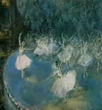 le lac des cygnes by maria davidson