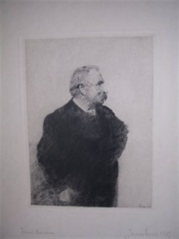 ernest rousseau by james ensor