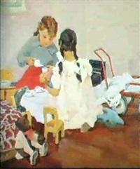 la tasse de the by elena ilinichna sokolova