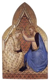 the coronation of the virgin by bernardo daddi