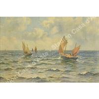 raffiguranti marine (2 works) by william moore