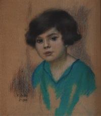 boy´s portrait by karel spillar