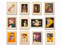 figures by richard lindner