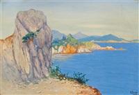 italian coast by soter jaxa-malachowski