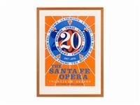 santa fe opera, twentieth season by robert indiana