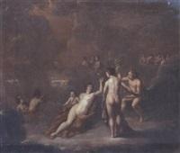 le festin des dieux by cornelis van cuylenburg