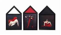 anima mundi (triptych) (3 works) by marina abramović
