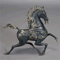 black horse by jiang tie feng